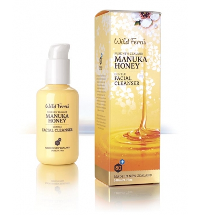 Wild Ferns Manuka Honey Facial Cleanser, 140ml