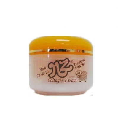 NZ Treasure Lanolin Collagen Cream, 100g