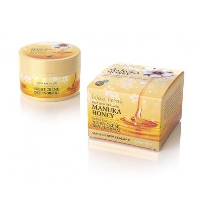 Wild Ferns Manuka Honey Night Creme Dry / Normal, 100g