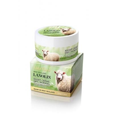 Wild Ferns Lanolin Night Creme Dry / Normal skin, 100g