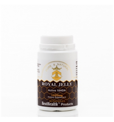 Best Health Royal Jelly Capsules, 1000mg, 60's
