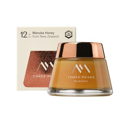 Three Peaks Manuka Honey UMF 12+, Net 200g