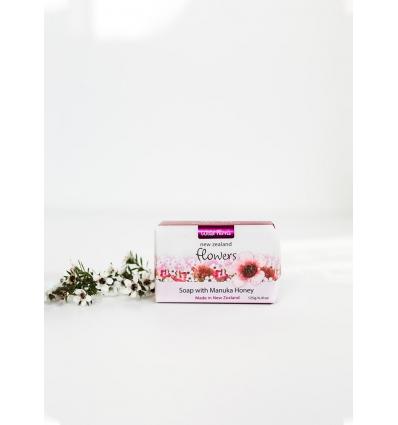 Wild Ferns Flowers with Manuka Honey Soap, 125g