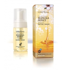 Wild Ferns Manuka Honey Facial Wash, 100ml